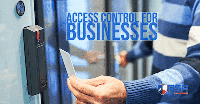 What is access control for businesses? We explain this in your blog.